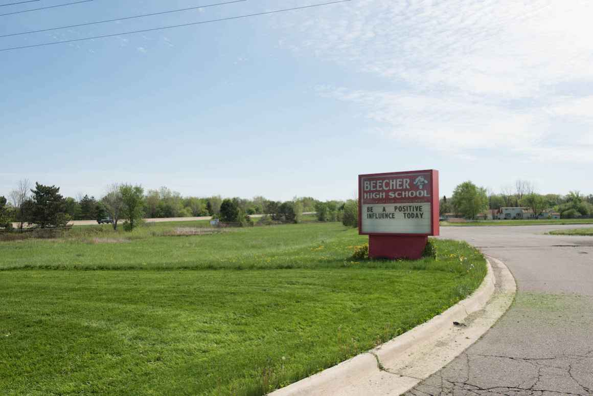 Beecher Community Schools sit 8 miles north of Flint and serves approximately 1,000 students.