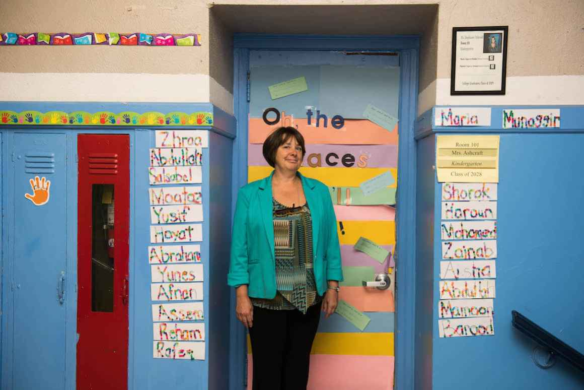 Holbrook Elementary School principal, Colleen Murphy, can provide a laundry list of challenges related to school buildings