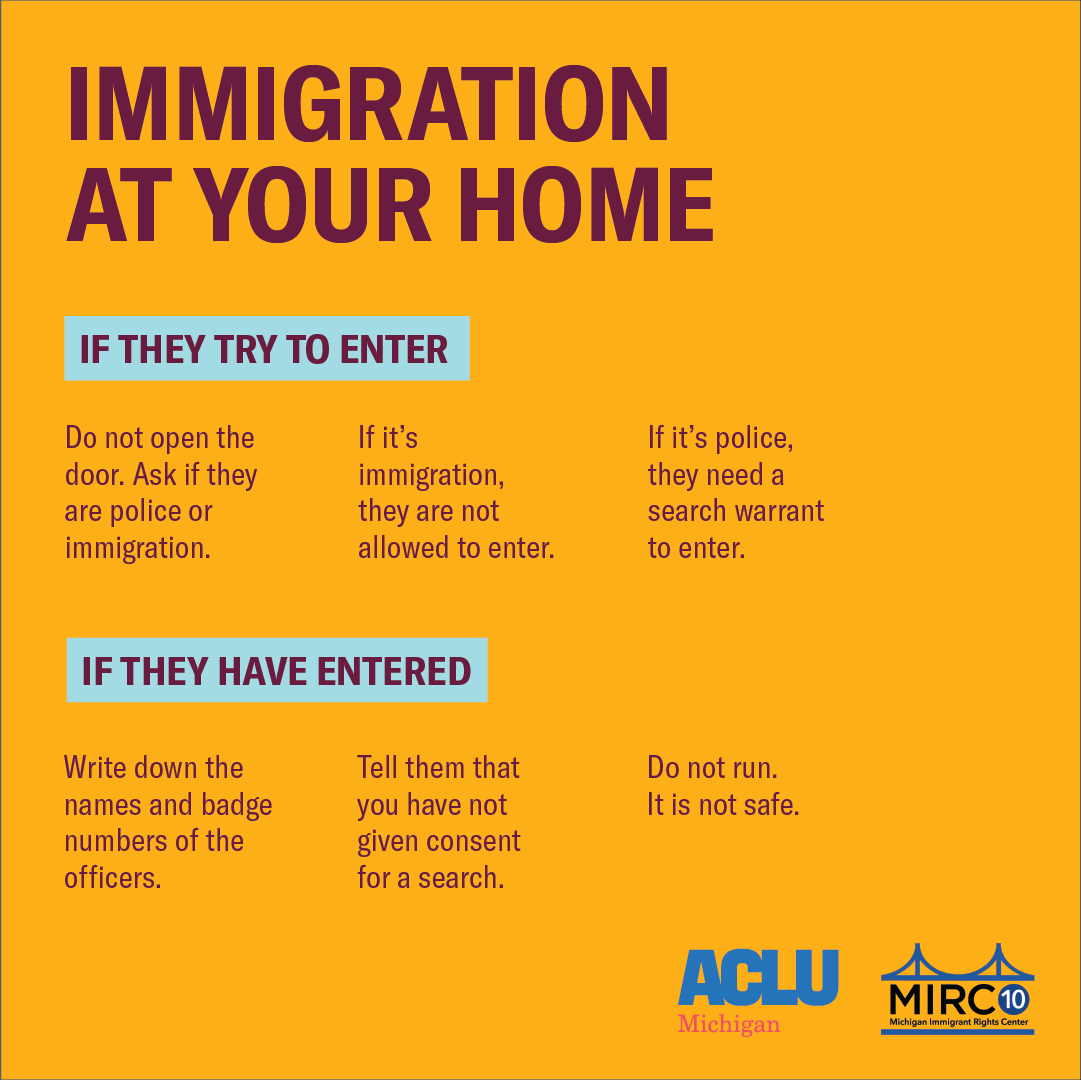 Immigration at your home