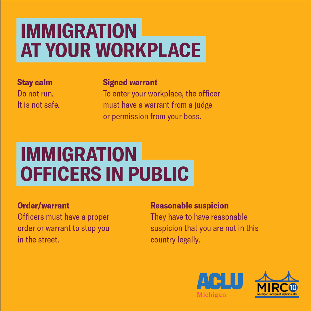 Immigration at your workplace
