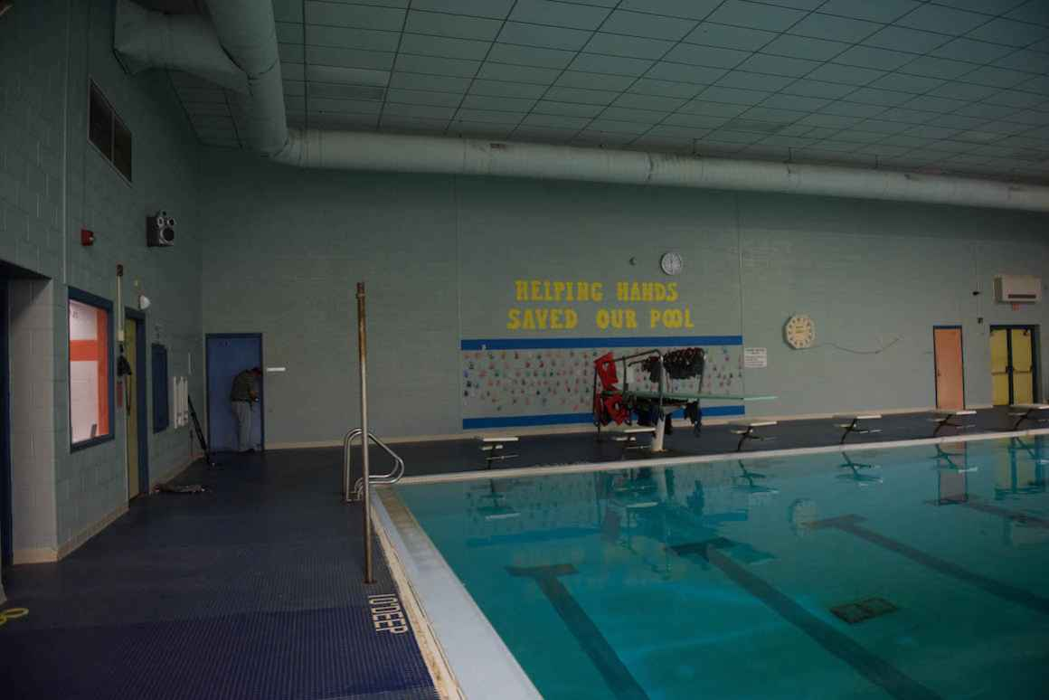 Rudyard Area Schools' swimming pool