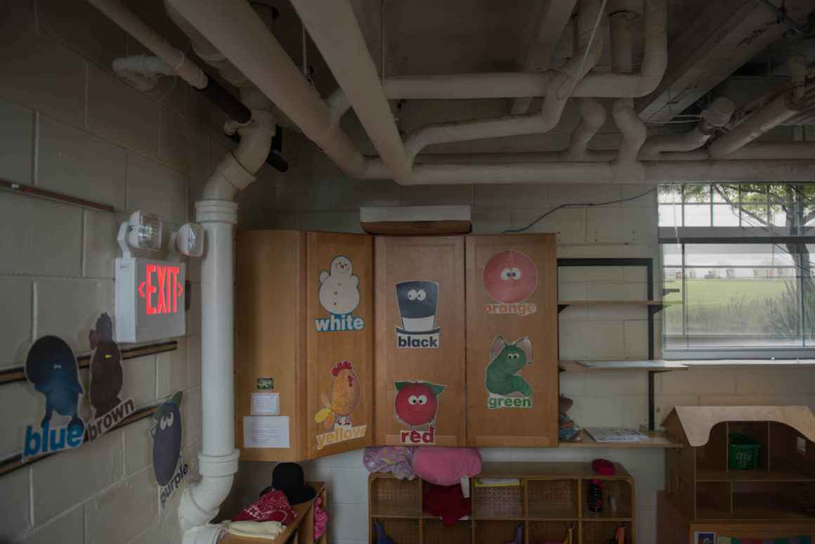 Old infrastructure and plaster walls means that the Sodus district cannot disguise pipes and wires inside of its walls