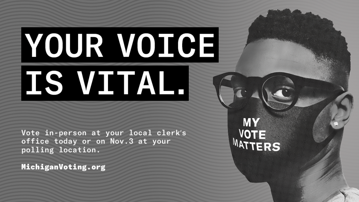 Your voice is vital. Vote.