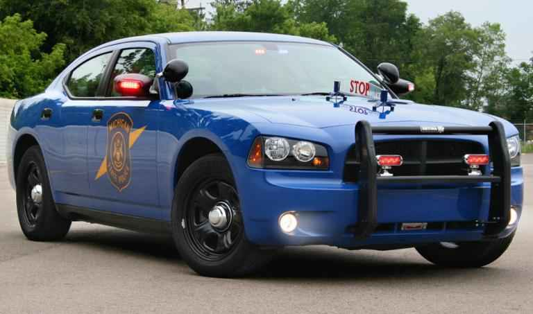 MSP patrol car