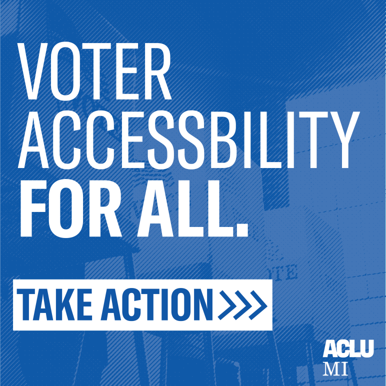 Take action for voter accessibility