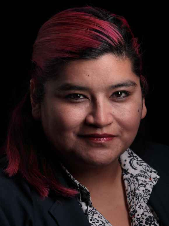 Head shot of Elvira Hernandez