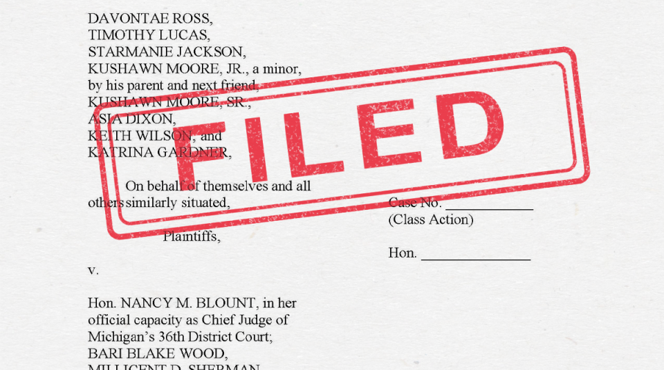 What Is A Class Action Lawsuit >> Aclu Files Federal Class Action Lawsuit Challenging
