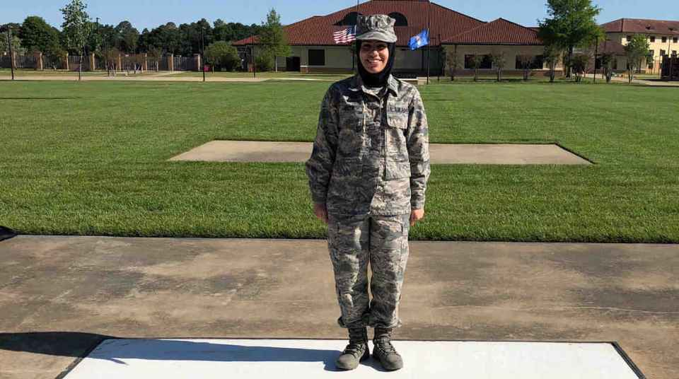 Air Force JAG Officer's Right to Wear Hijab   ACLU of Michigan