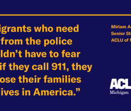 Due Process | ACLU of Michigan